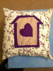 Home is where the heart is - purple