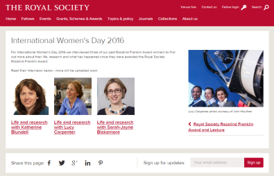 IWD2016_RS interviews